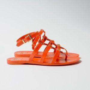 Tory Burch Vaughn Gladiator Sandal Orange